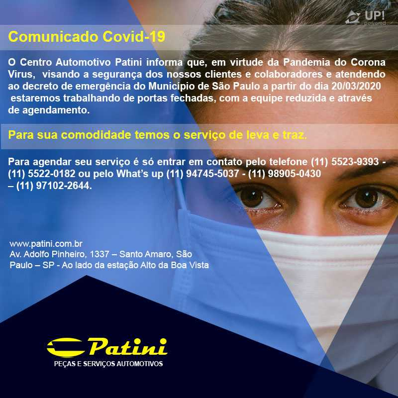 Comunicado Patini